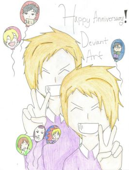 Happy Birthday Ouran Style by nightmare1912