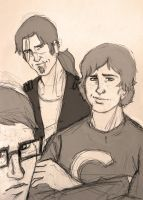 Eldest Weasley Boys by Catching-Smoke