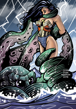 Wonder Woman In Peril 10 by JINworks