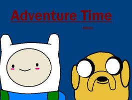Adventure Time Paint by MonteyRoo