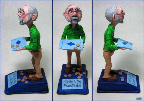 Commissioned Caricature Figure by DMStrecker