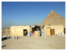 Storeroom and The Pyramid by Renifer