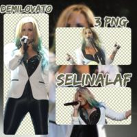 Demi Lovato PNG Pack by SelinAlaf
