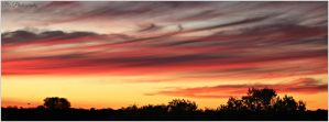 Wispy Sunset by WestOz64