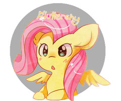 Fluttershy nyu by Fierying