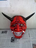 oni red mask by agoeznagellol