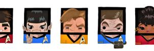 TOS Cast by Squaracters