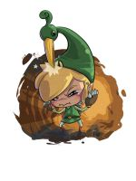 Link : Minish Cap by Pikatoro