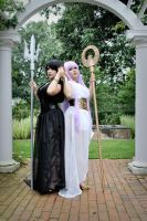Saint Seiya: Athena and Pandora I by CookieKabuki