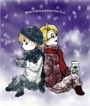 Love in the Snow by annsquare