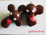 Monkey Phone Charm by Gallimaufree