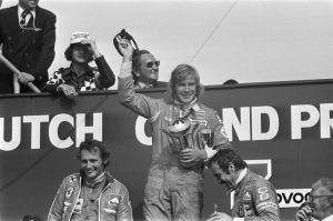 1975 Dutch Grand Prix Podium by F1-history