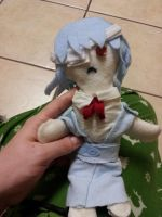 Rei Ayanami Plushie by Peace-Dove