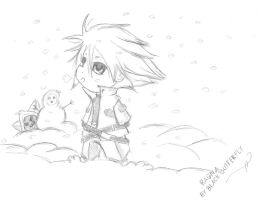 Chibi Ragna by BlackButterfly18