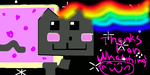 How to draw nyan cat! by talia1908