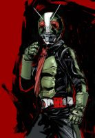 masked rider by wahkee930
