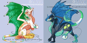 FlightRising:Pearlcatcher Custom Skin MeepBeep by MystikMeep