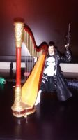 Don't mess with The Punisher's harp! by OwossoHarpist