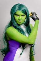 She-Hulk: Strong Woman by MommaSammu