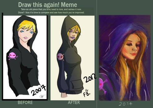 Draw this again! Meme by Che-Crawford