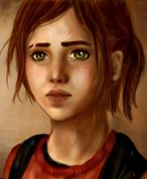 The Last of Us: Ellie by farangel143