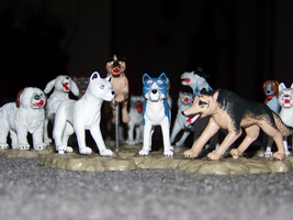 M ginga figures by WhiteWolfCrisis13