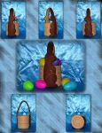 Chocolate Bunny Basket by UrsulaPatch