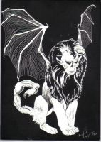 Manticore by Lady-Jester