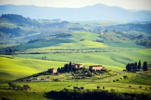 Tuscan Hills by Floriarty
