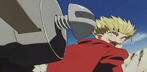 Vash the Stampede Cat Face by Champineography