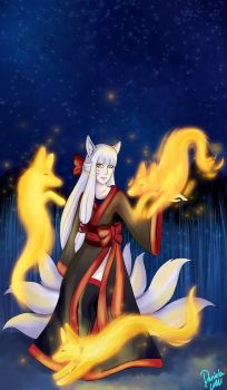 Kitsune by Lalobadelcrepusculo