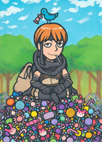 Gaius the candy thief (Fire Emblem: Awakening) by Yamallow