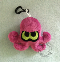 Octoling Plush Keychain by Sunflowmon
