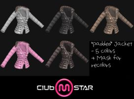 MStar Female Padded Jacket by XNAMall