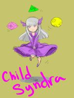 Child Syndra by KindCoffee