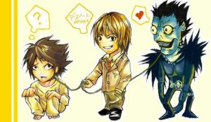 CHIBI Death Note Master by cheryl-chan