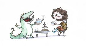 monster for tea.. by VODKABABY