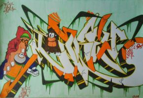 graffiti wildstyle by CiaSalonica