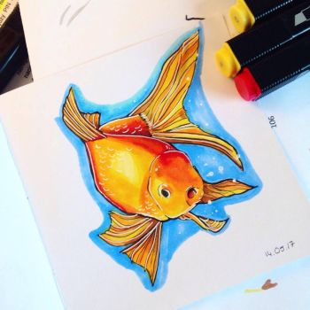 Goldfish by Ageen