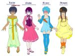 Teens In Dresses by Awa303