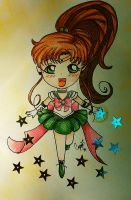 Sailor Jupiter by YueTsukishiro