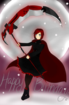 RWBY Red! HBD Jacob  by Kurorororo