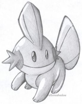 Mudkip by albinoshadow