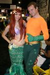 Ariel and Aquaman by Valar-Varda