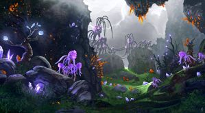 LifeSpark - Crystal Forest by FreeMind93