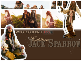 C A P T A I N Jack Sparrow by jules0117