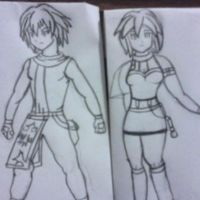 Two Characters for my future RPG Maker VX Ace Game by NintendoFanDj