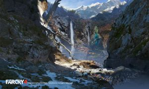 FarCry4 Concept Art - Mountain path by Donglu
