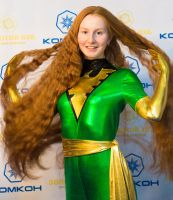 Jean Grey Cosplay by Mitoka