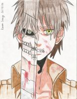 Drawing 64 (Manga) Eren Yeager (Keven Soucy) by Kdor2684